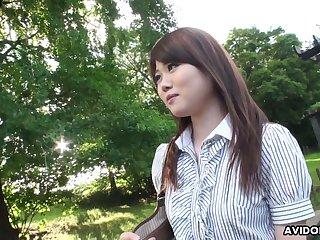 Sweet Japanese bird Kazumi Saijo positively loves when she is fucked doggy