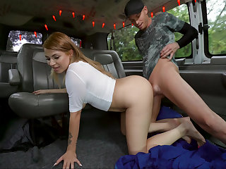 Big booty Latina takes a load