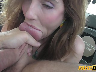 Taxi Parlour-maid Abuses His Alluring Customer - ANALDIN