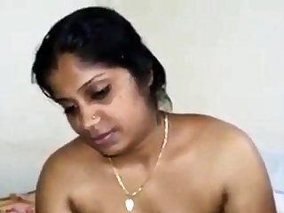mallu aunty show